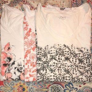 Ann Taylor Loft T-shirt Bundle